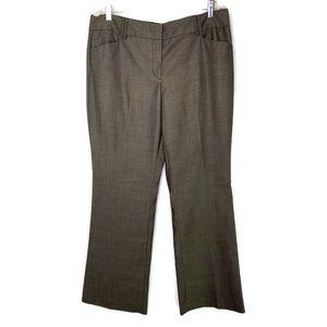 New York & Co Brown Slacks Size 14